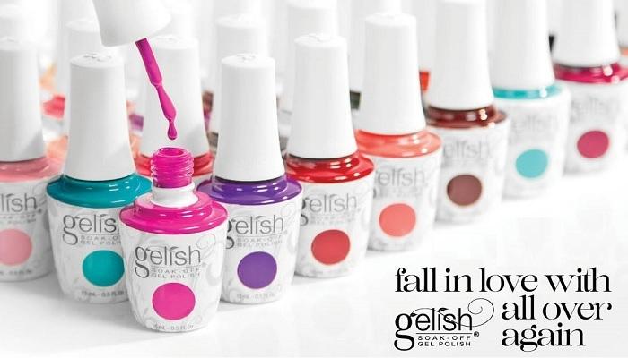 Gelish Hottest Colours