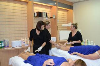 Australian waxing company training room image