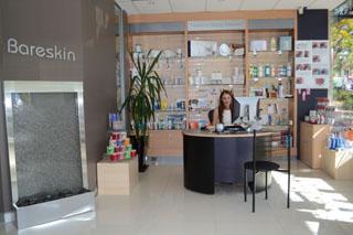 image of australian waxing company reception area